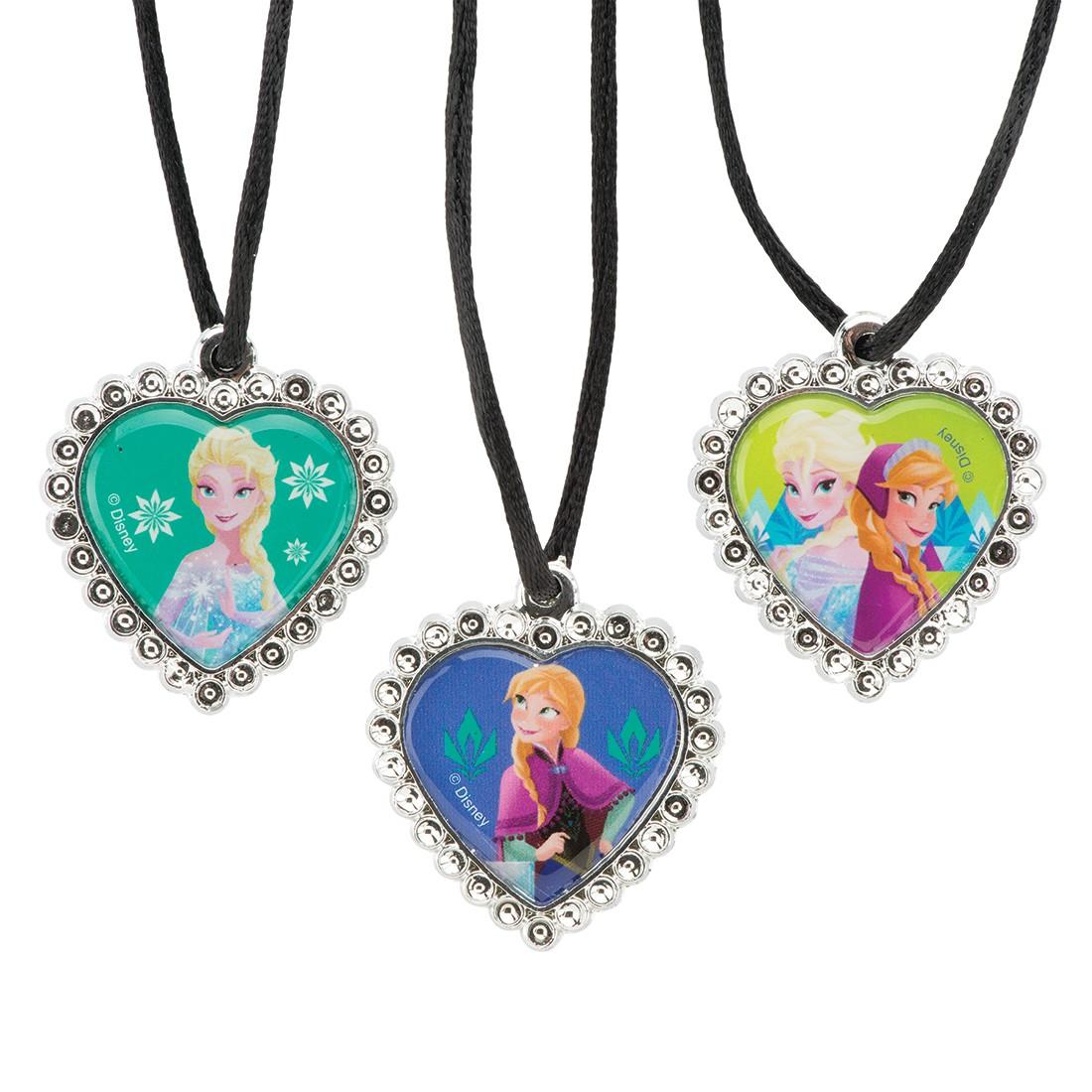 Disney Frozen Jewel Heart Necklaces [image]