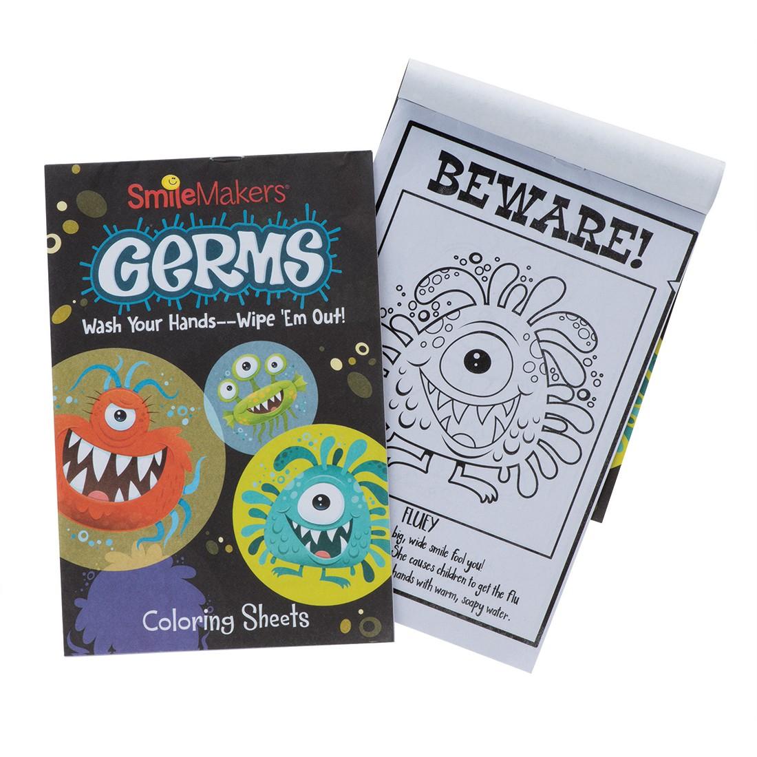 Germ Squad Coloring Books [image]