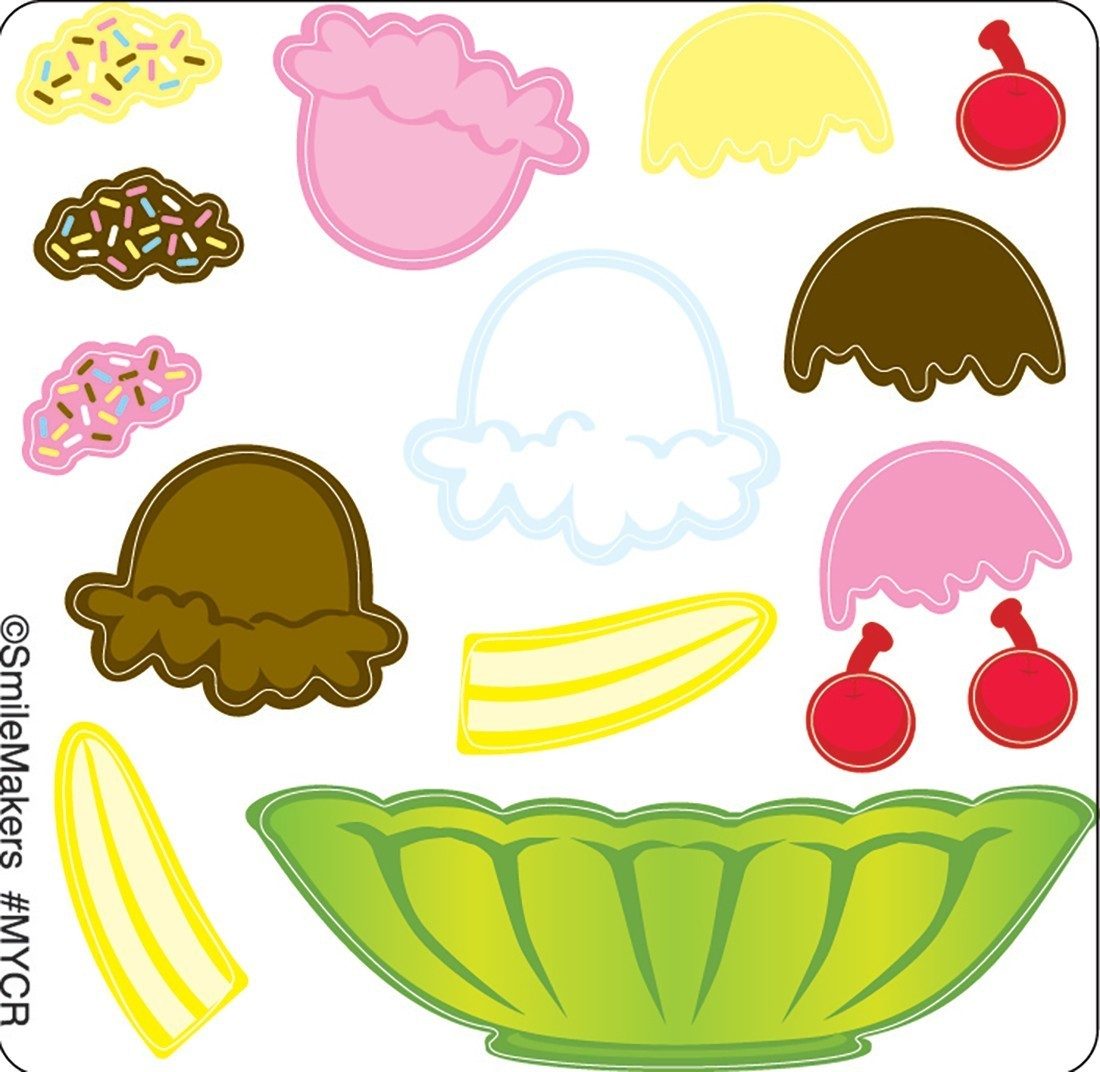 Make Your Own™ Sundae Stickers                [image]