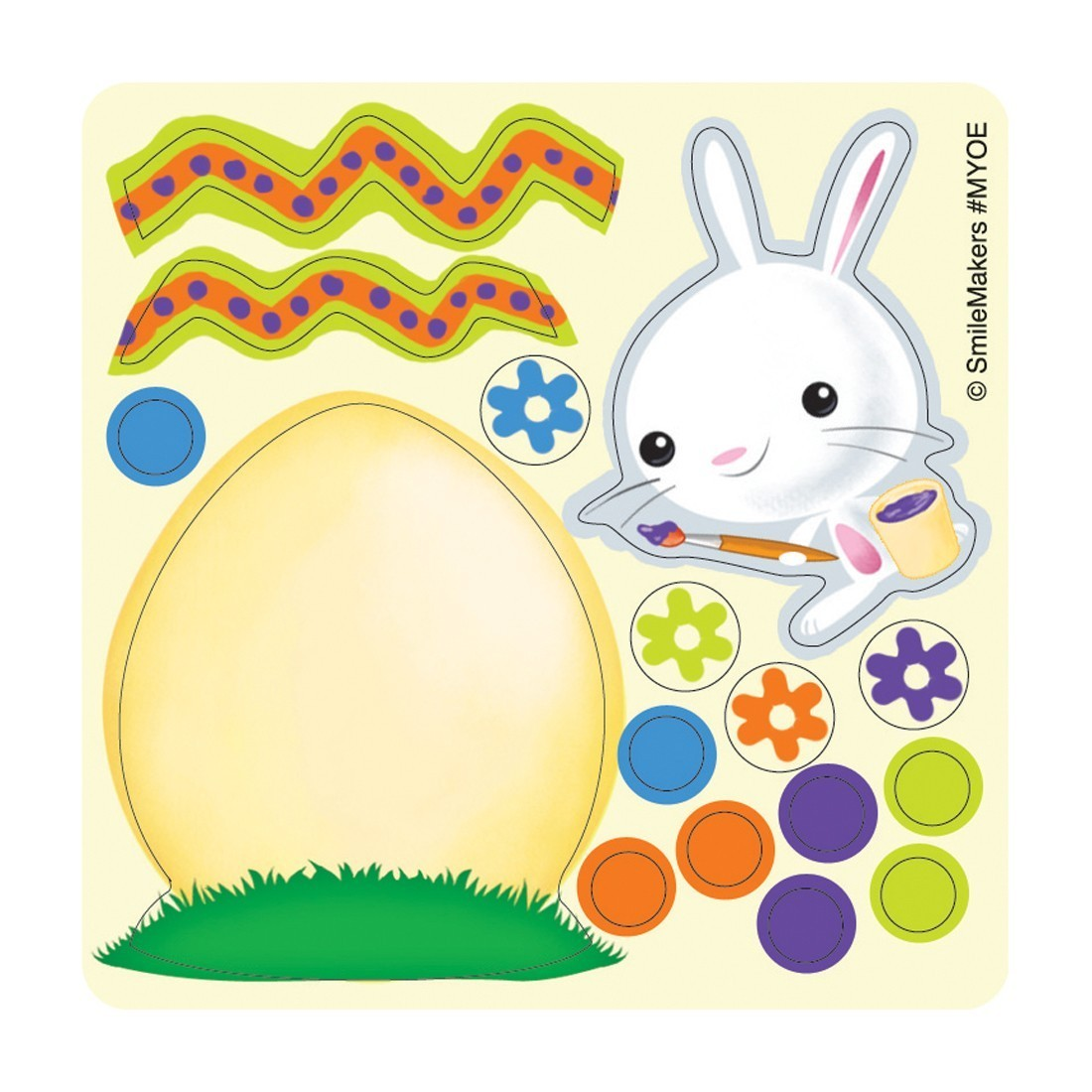 Make Your Own Easter™ Egg Stickers            [image]