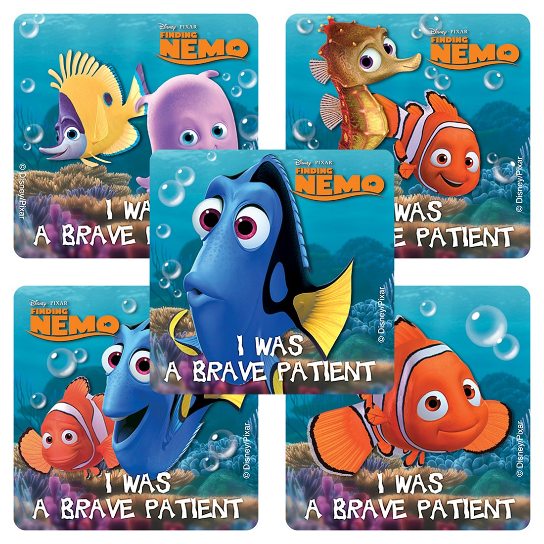 Finding Nemo Medical Stickers                      [image]