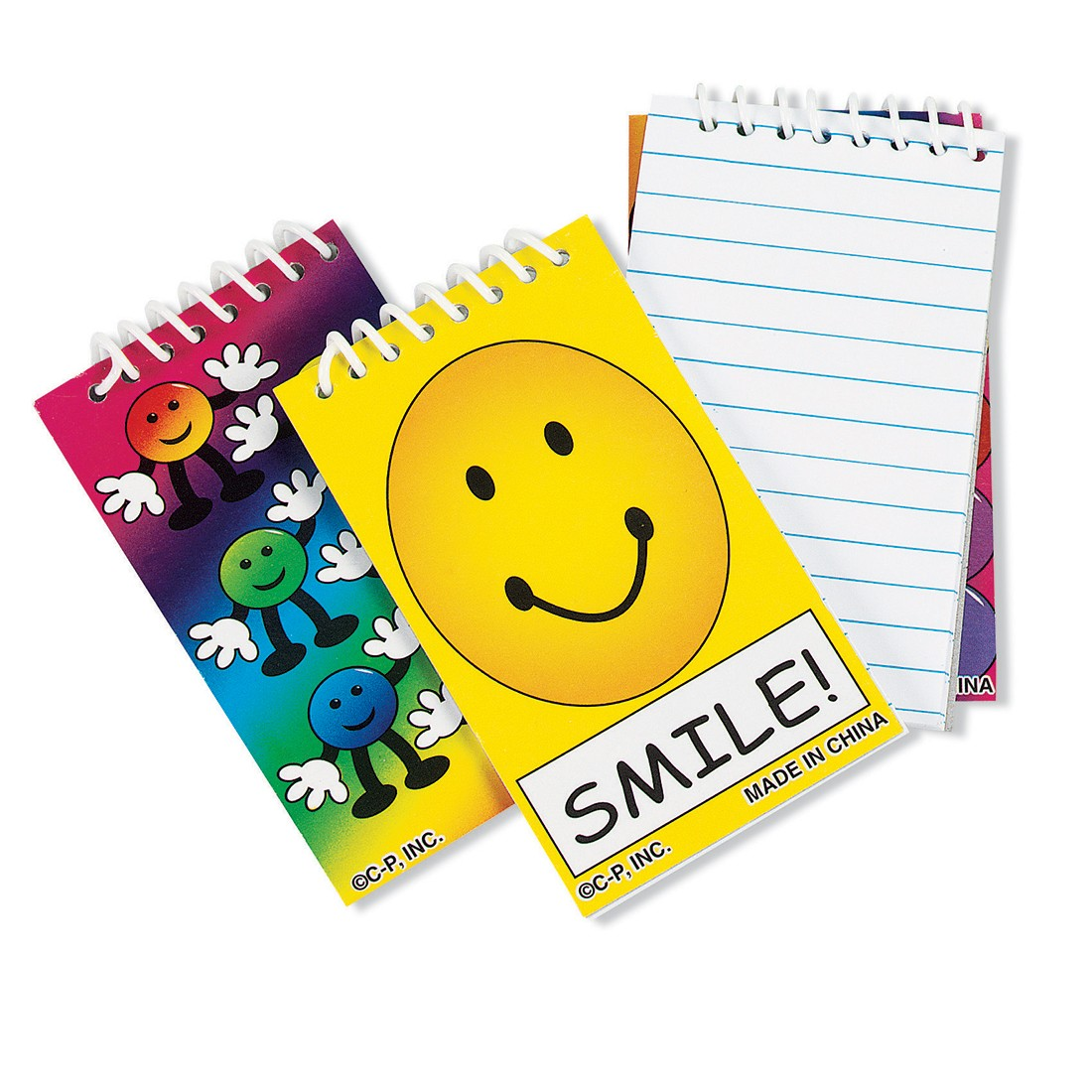 Groovy Smiley Notepads [image]
