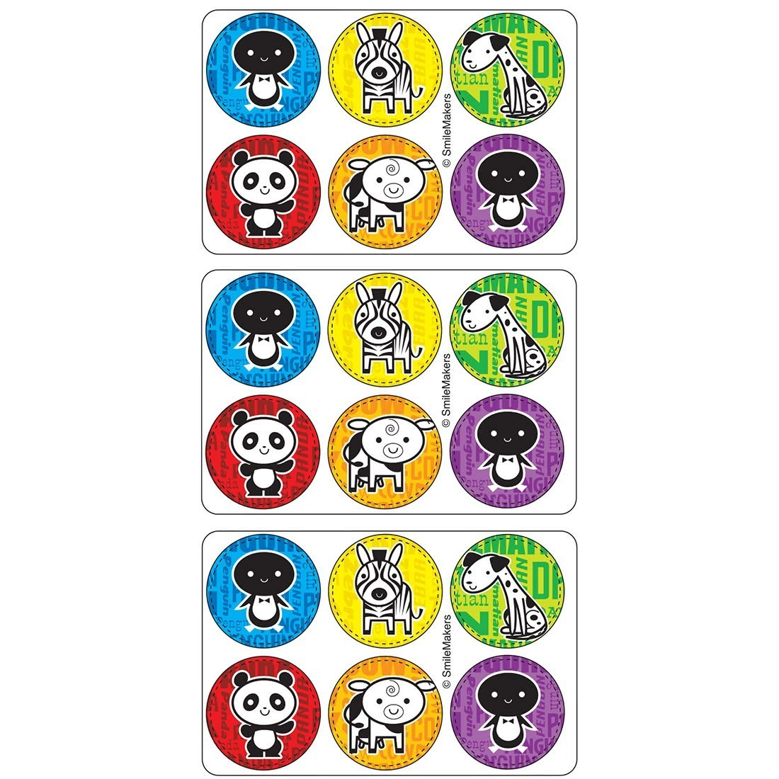 Animal Mini Dots Stickers [image]