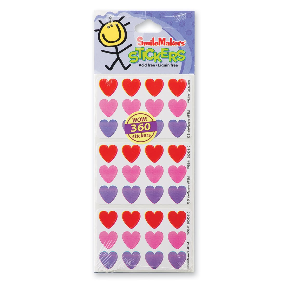 Fun Shapes Hearts Stickers [image]
