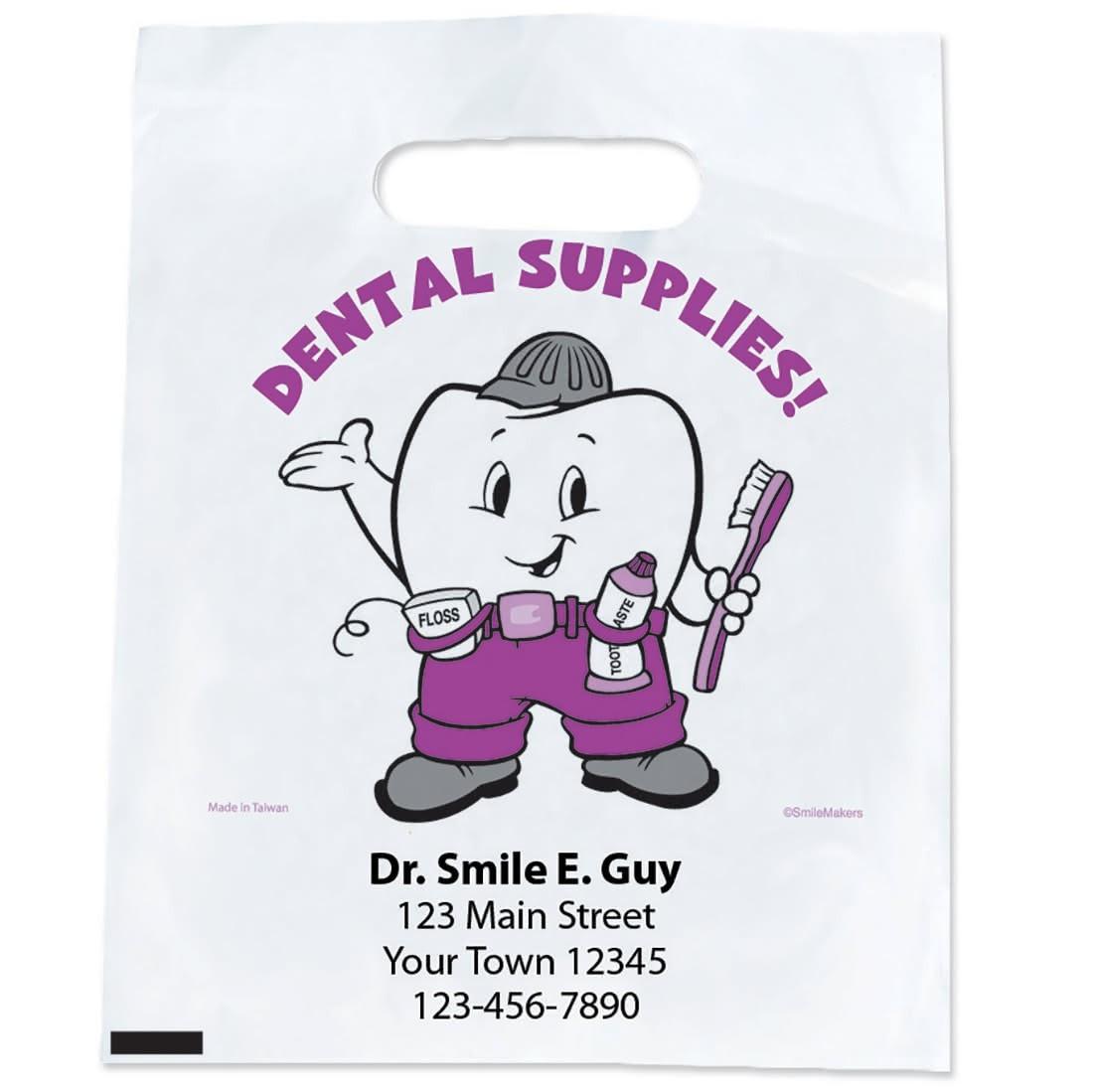 Custom Dental Supplies Bags                        [image]