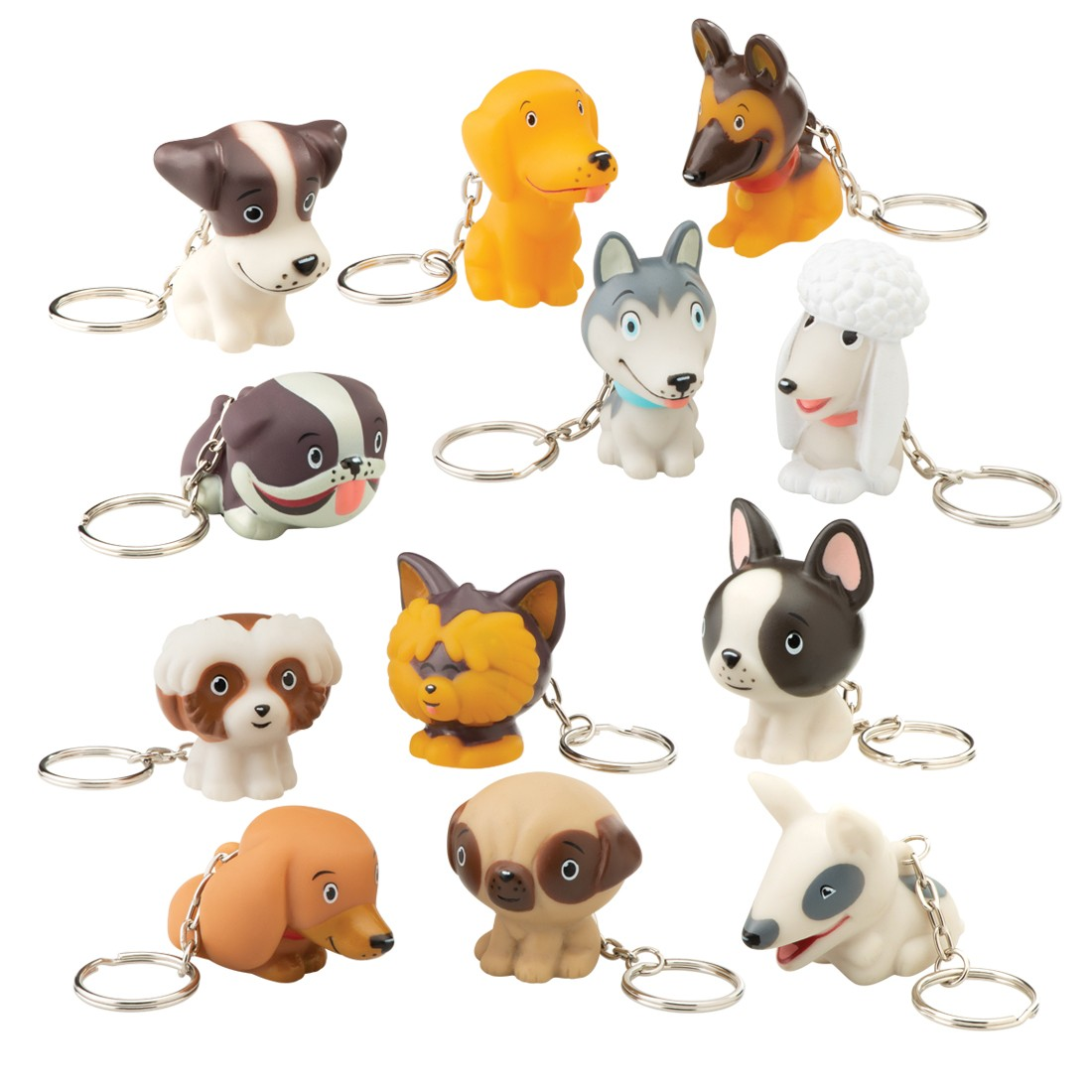 Treatment Series Dog Collectible Backpack Pulls [image]