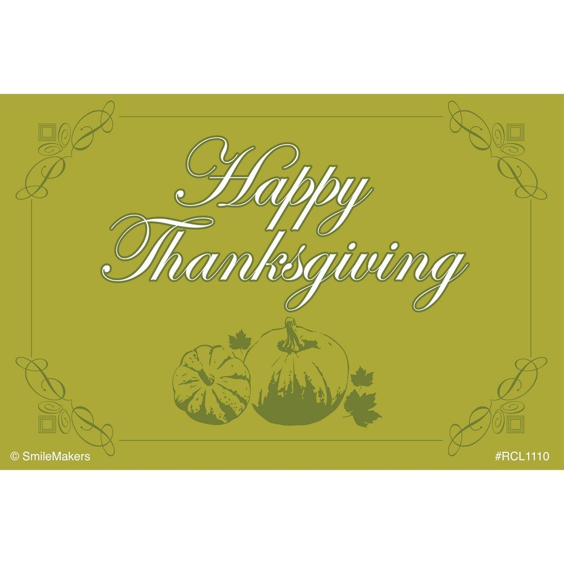 Happy Thanksgiving Recall Cards [image]