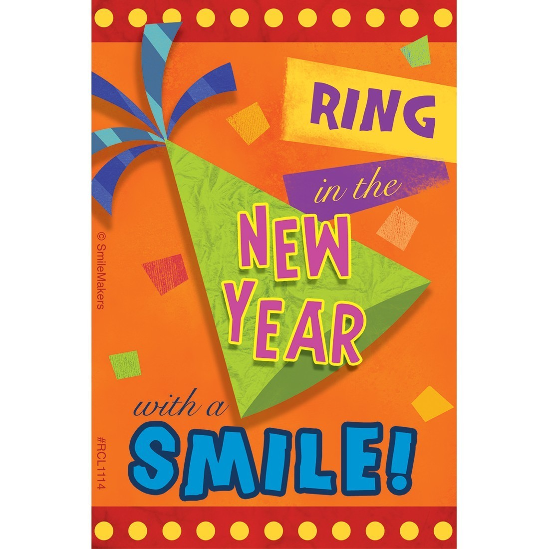 New Year Smile Recall Cards [image]