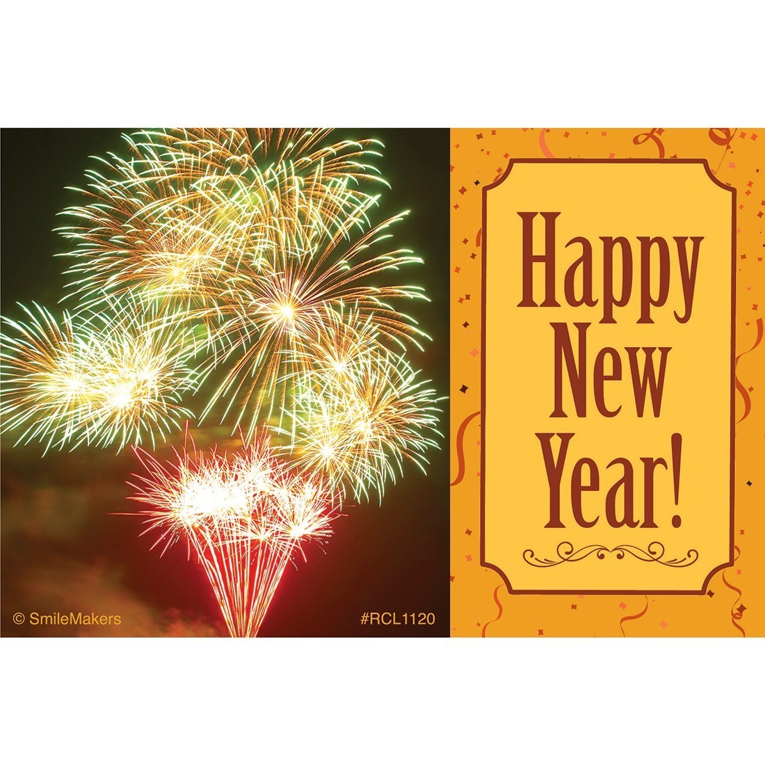 Happy New Year Fireworks Recall Cards [image]