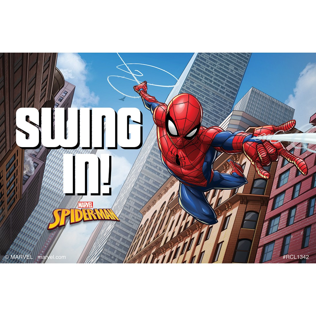 Spider-Man Swing In Recall Cards [image]