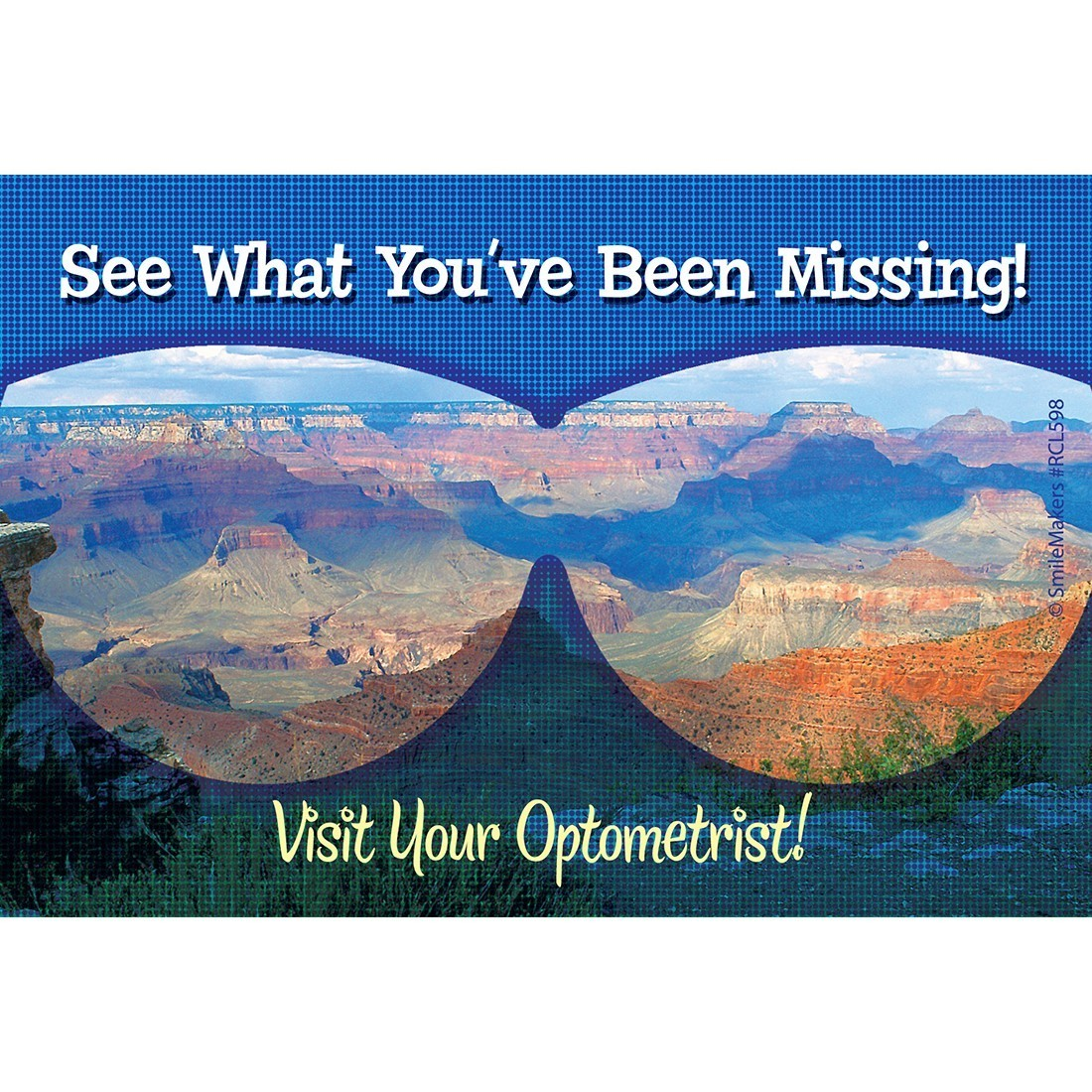 Visit Your Optometrist Recall Cards - Custom Recall Cards from ...