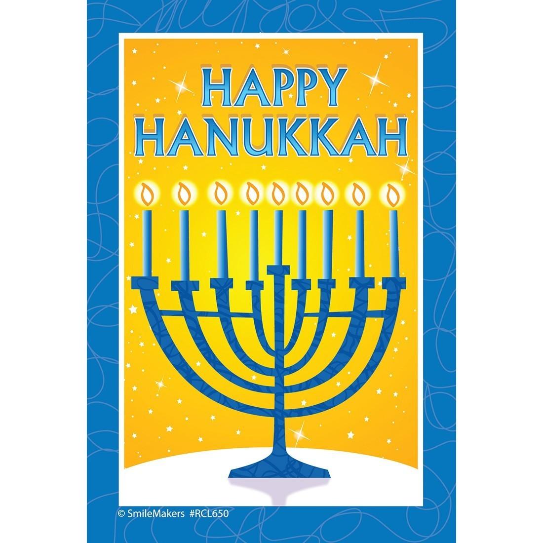 Happy Hanukkah Recall Cards [image]
