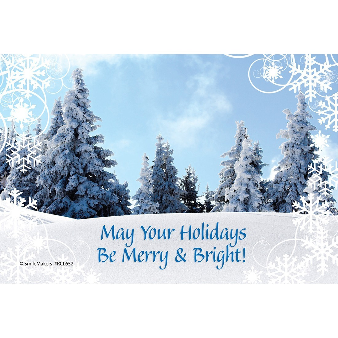Merry & Bright Christmas Recall Cards [image]