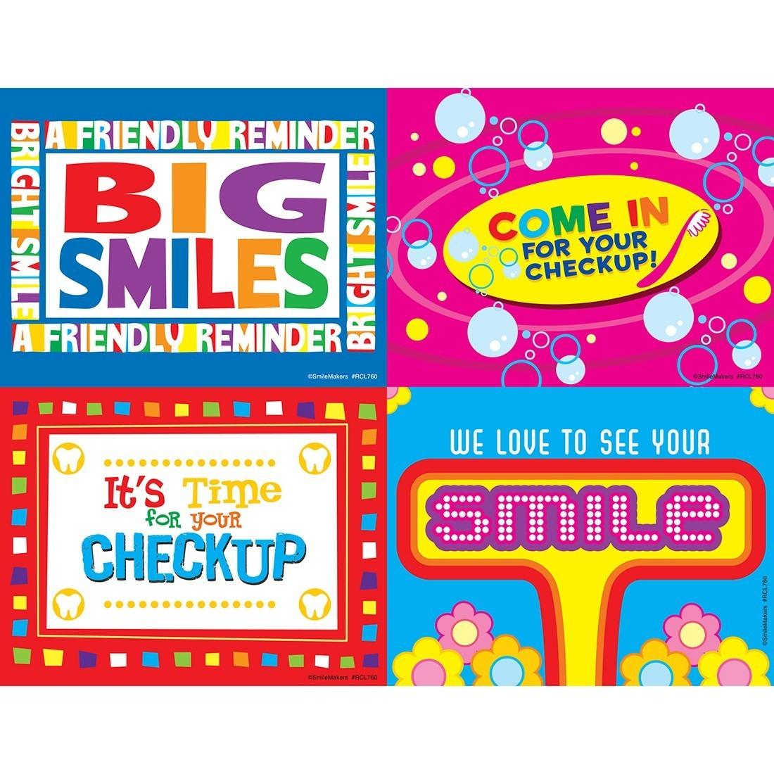 Retro Smile Laser Cards [image]