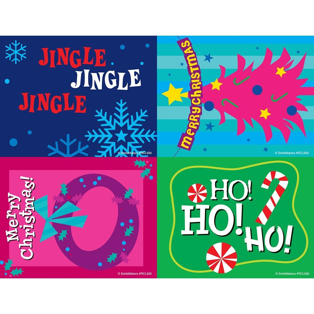 Merry Christmas Laser Cards [image]