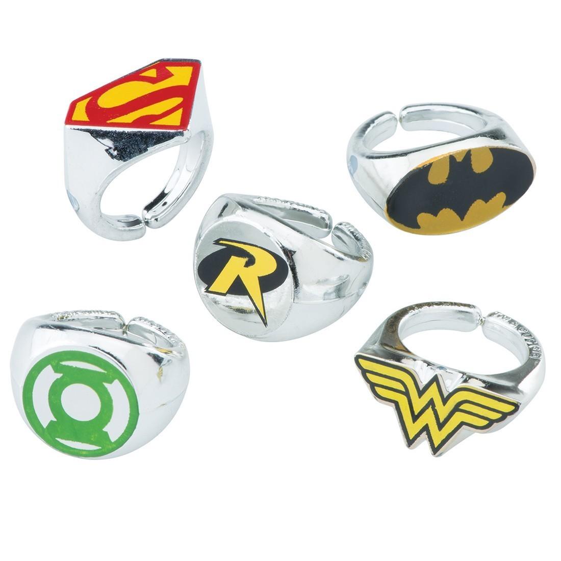 DC Comic Superhero Rings   [image]