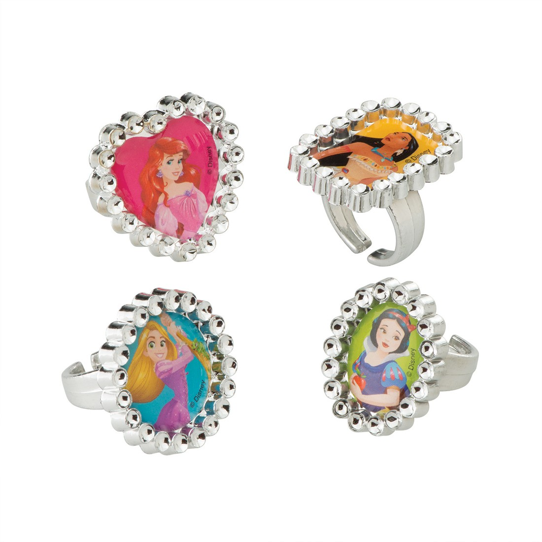 Disney Princess Jewel Rings [image]