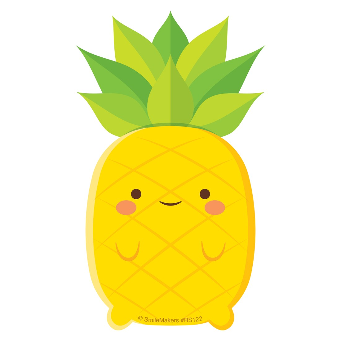 Pineapple Re-Stickable Stickers  [image]