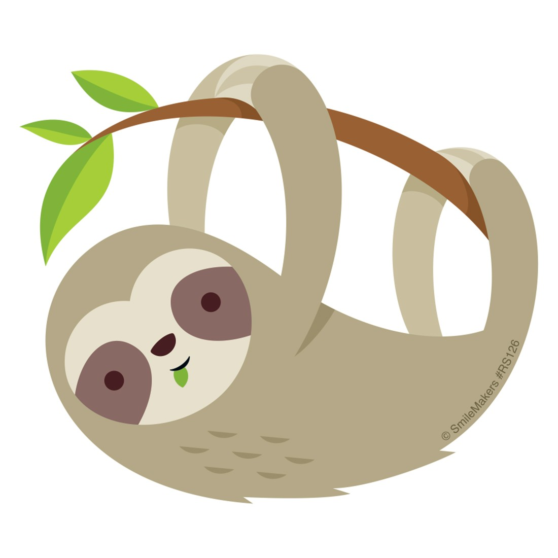 Sloth Re-Stickable Stickers  [image]