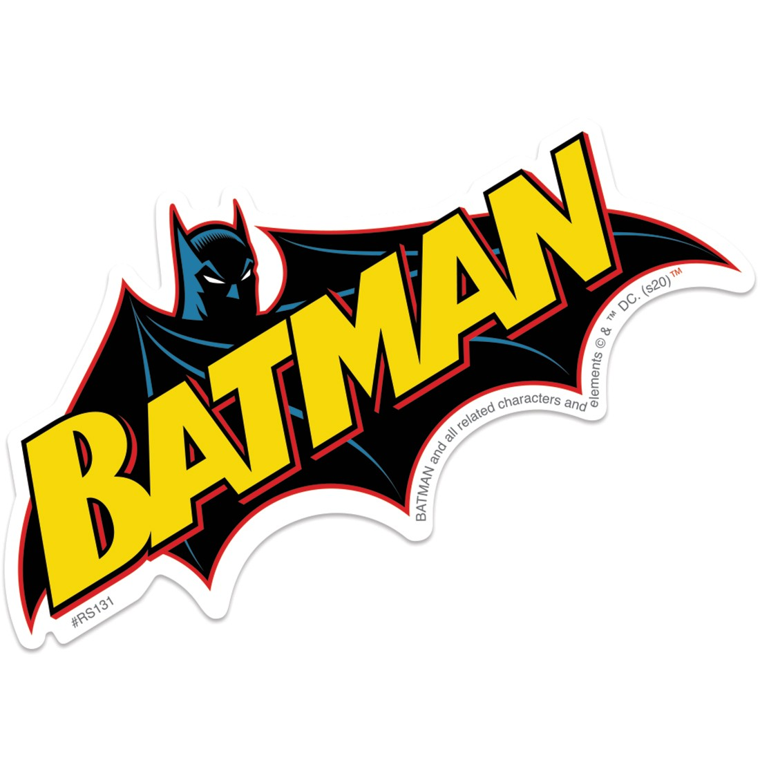 Batman Logo Re-Stickables [image]