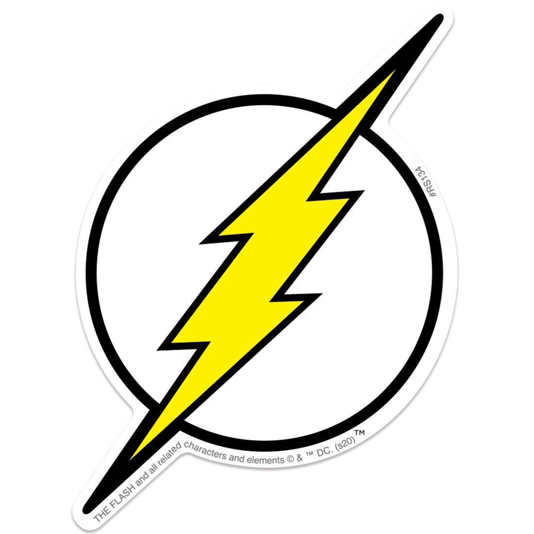 Flash Lightning Bolt Re-Stickables [image]
