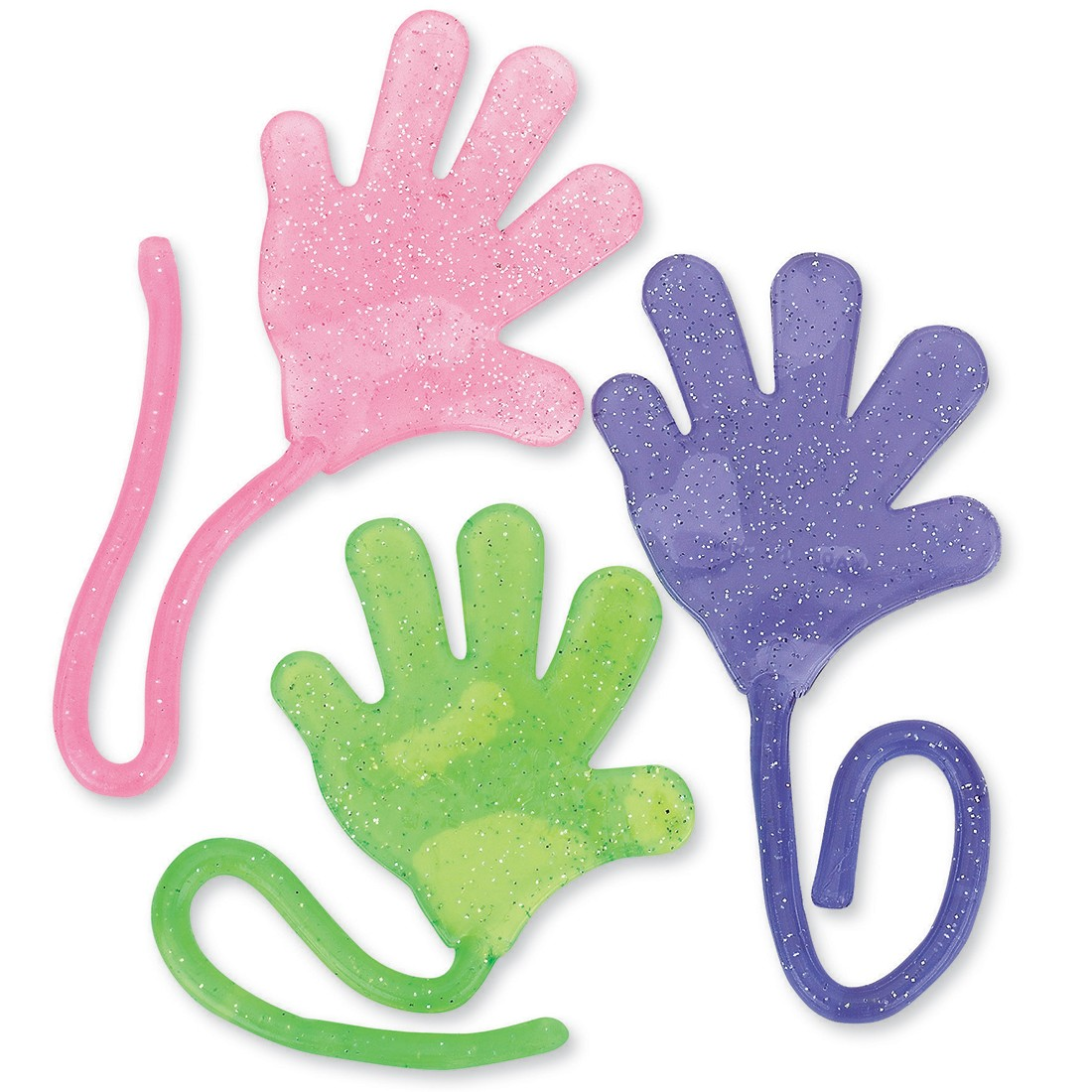 Glitter Sticky Hands [image]