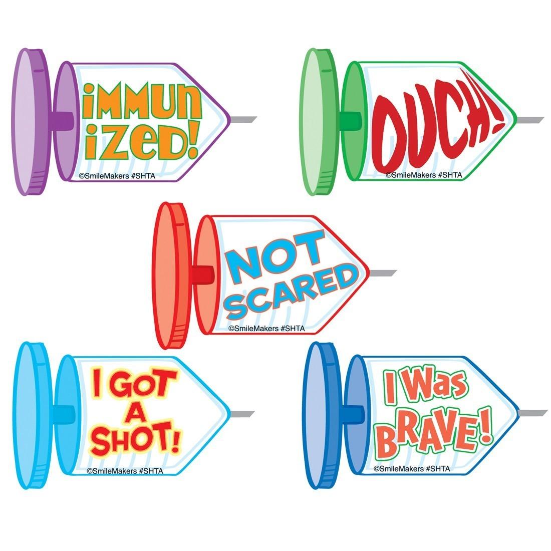 Shaped Shot Stickers                               [image]