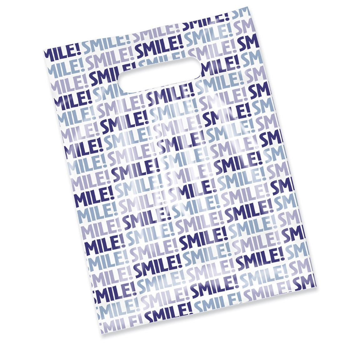 Smile! Scatter Print Bag [image]