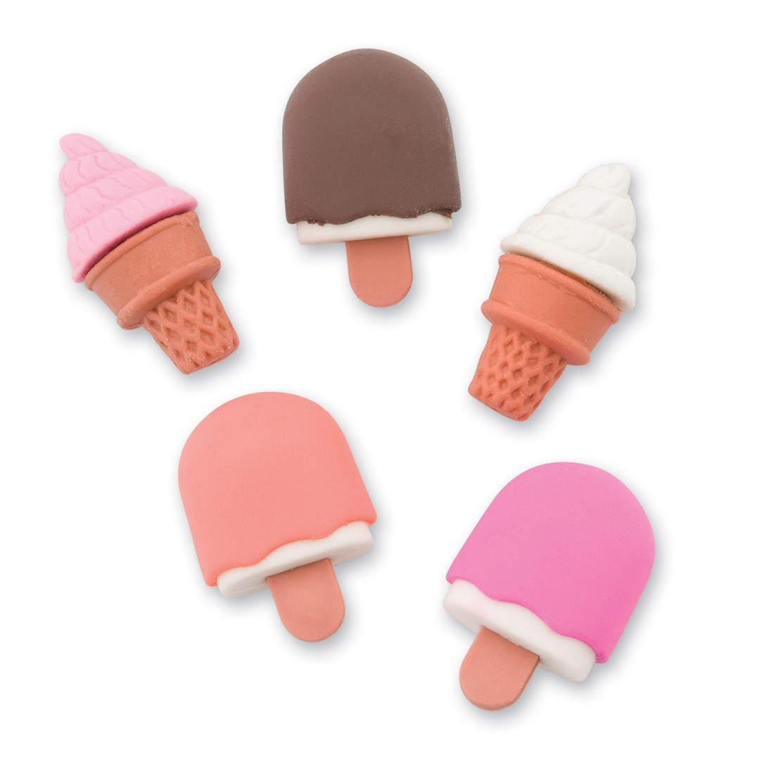 Ice Cream Erasers [image]