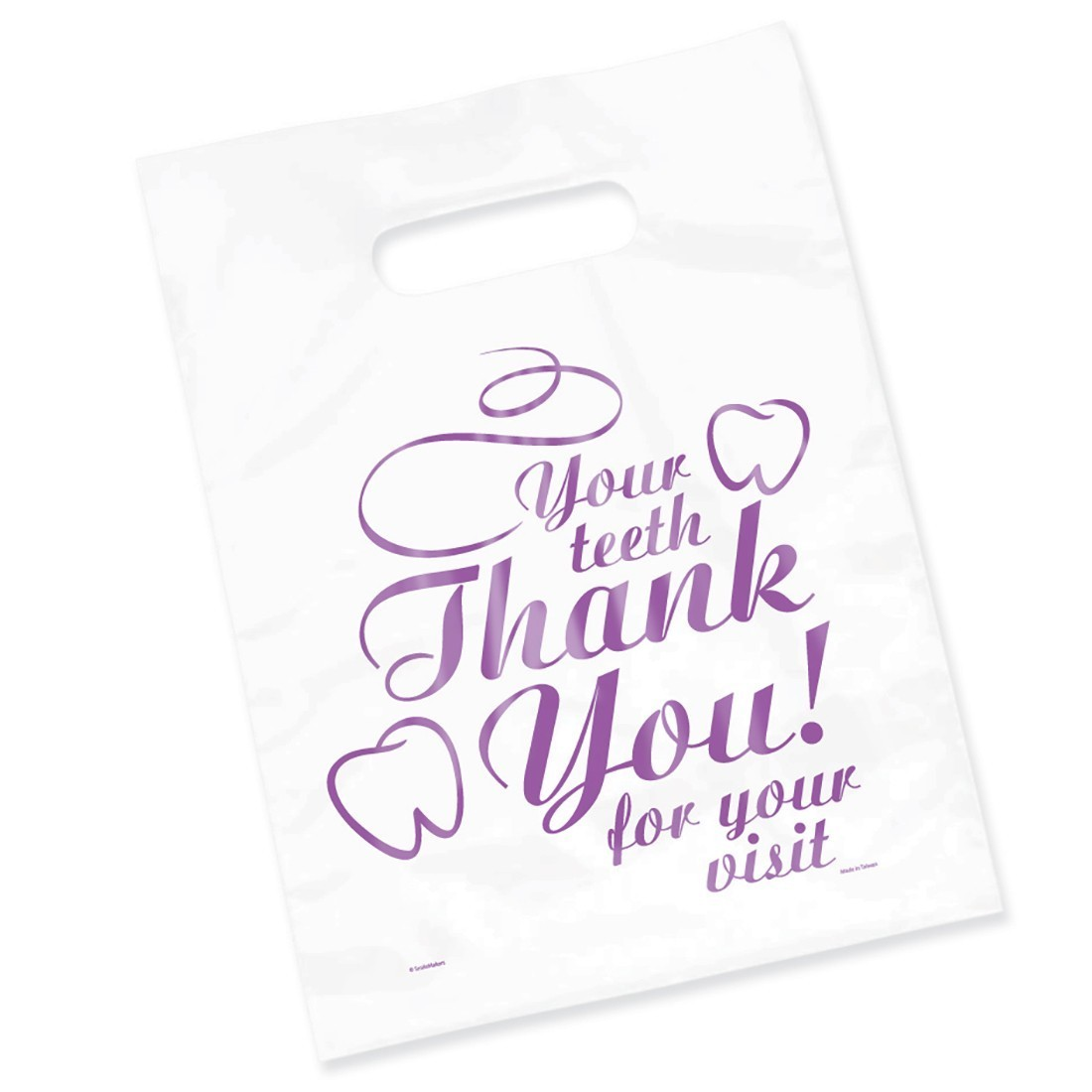 Clear Thank You Bags                               [image]