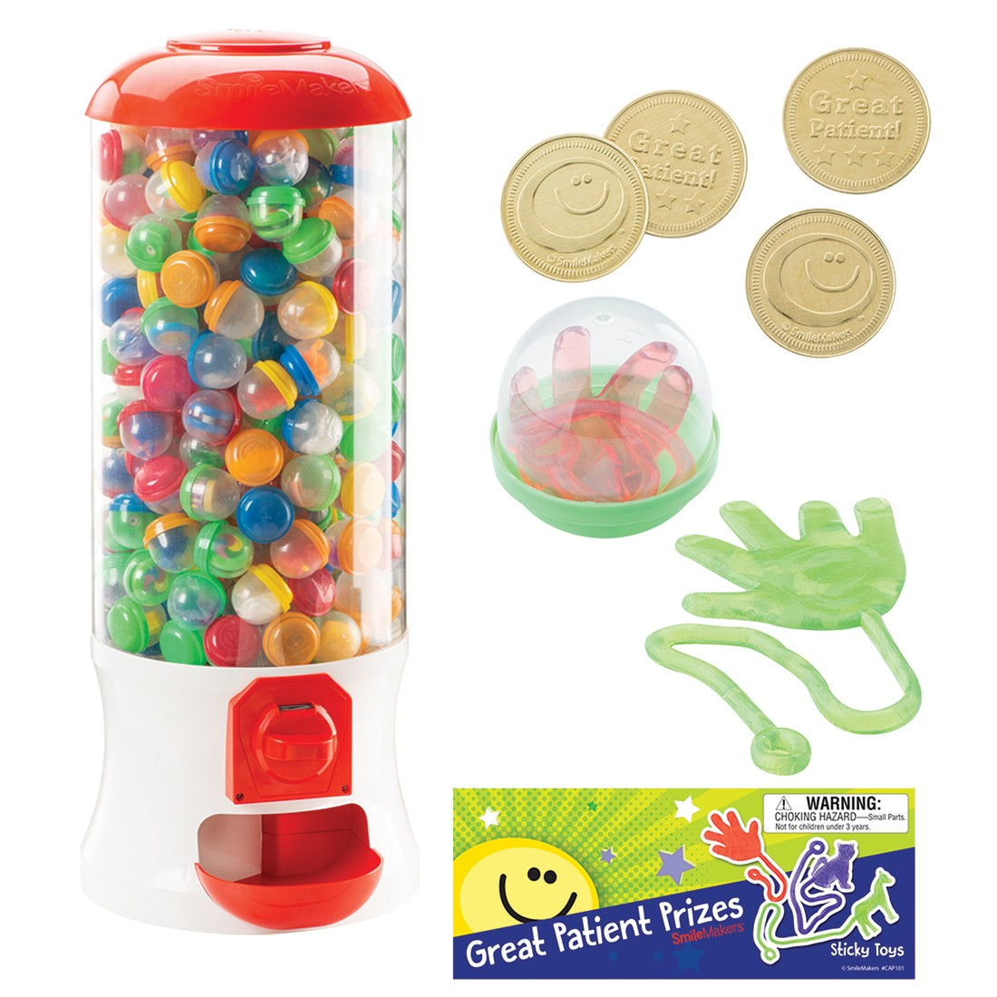 """SmileMakers Sticky Toy 32"""" Vending Machine Starter Pack [image]"""