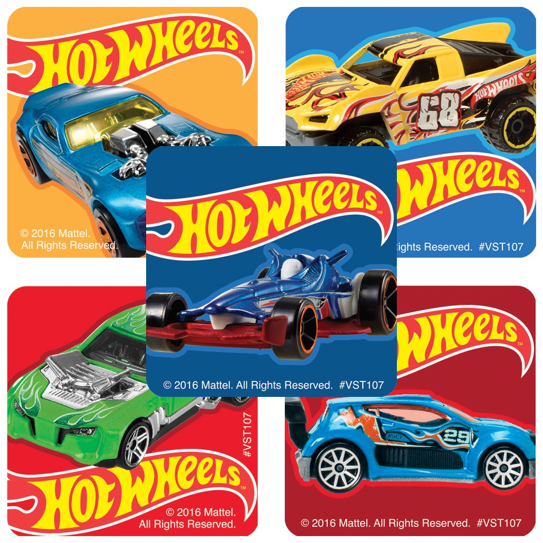 Classic Hot Wheels ValueStickers  [image]