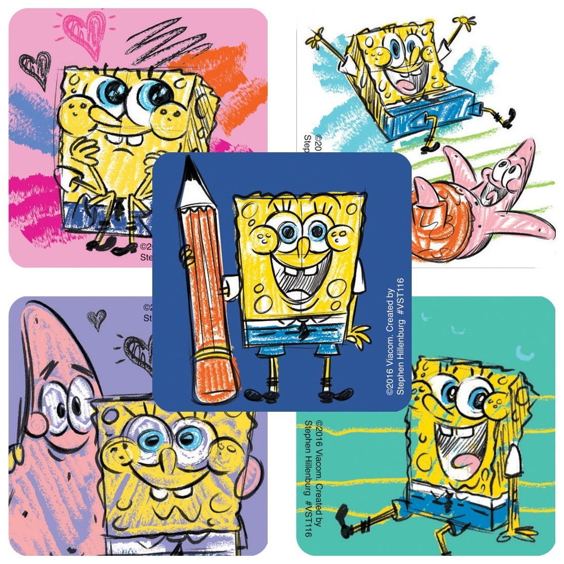 SpongeBob SquarePants™ ValueStickers   [image]