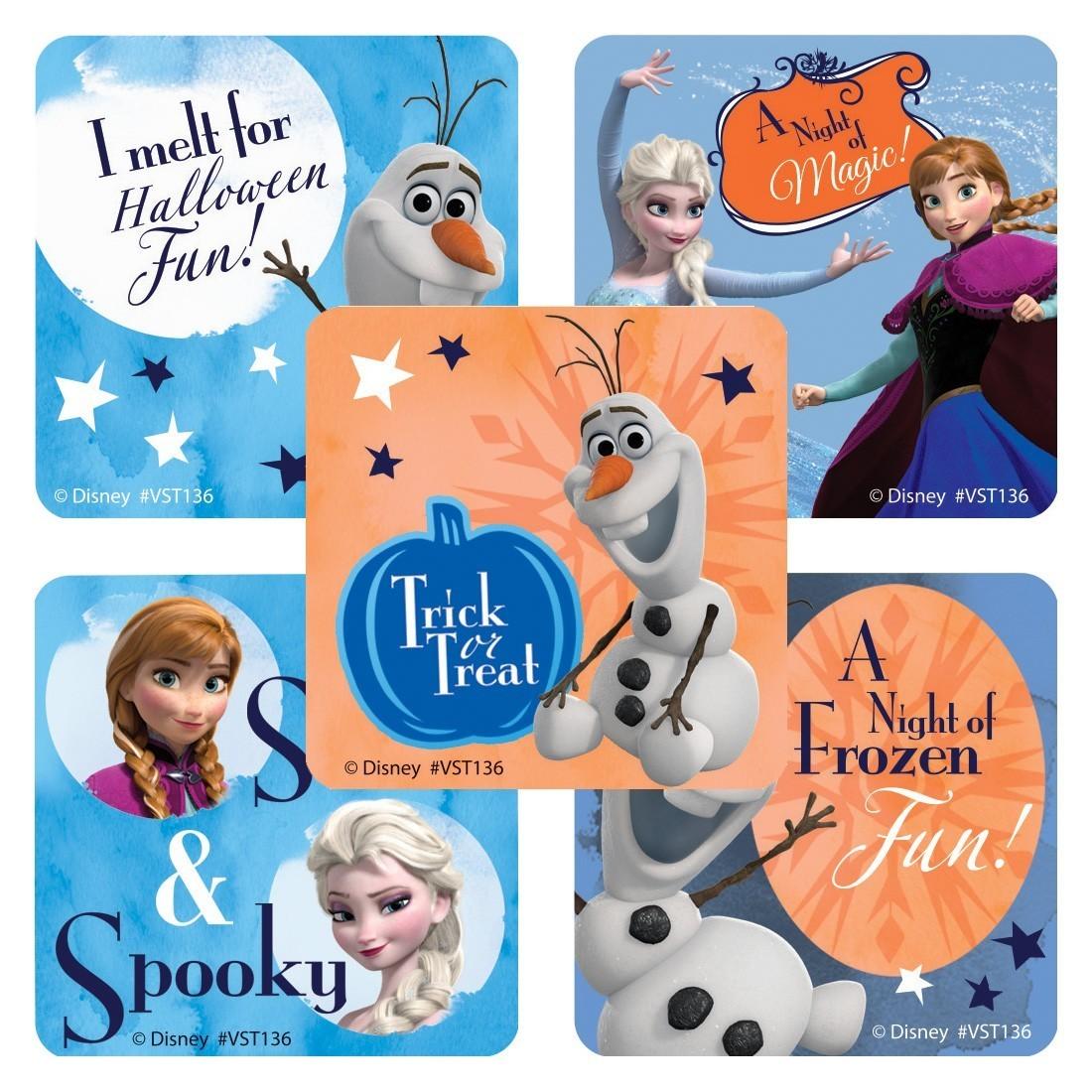 Disney Frozen Halloween ValueStickers [image]