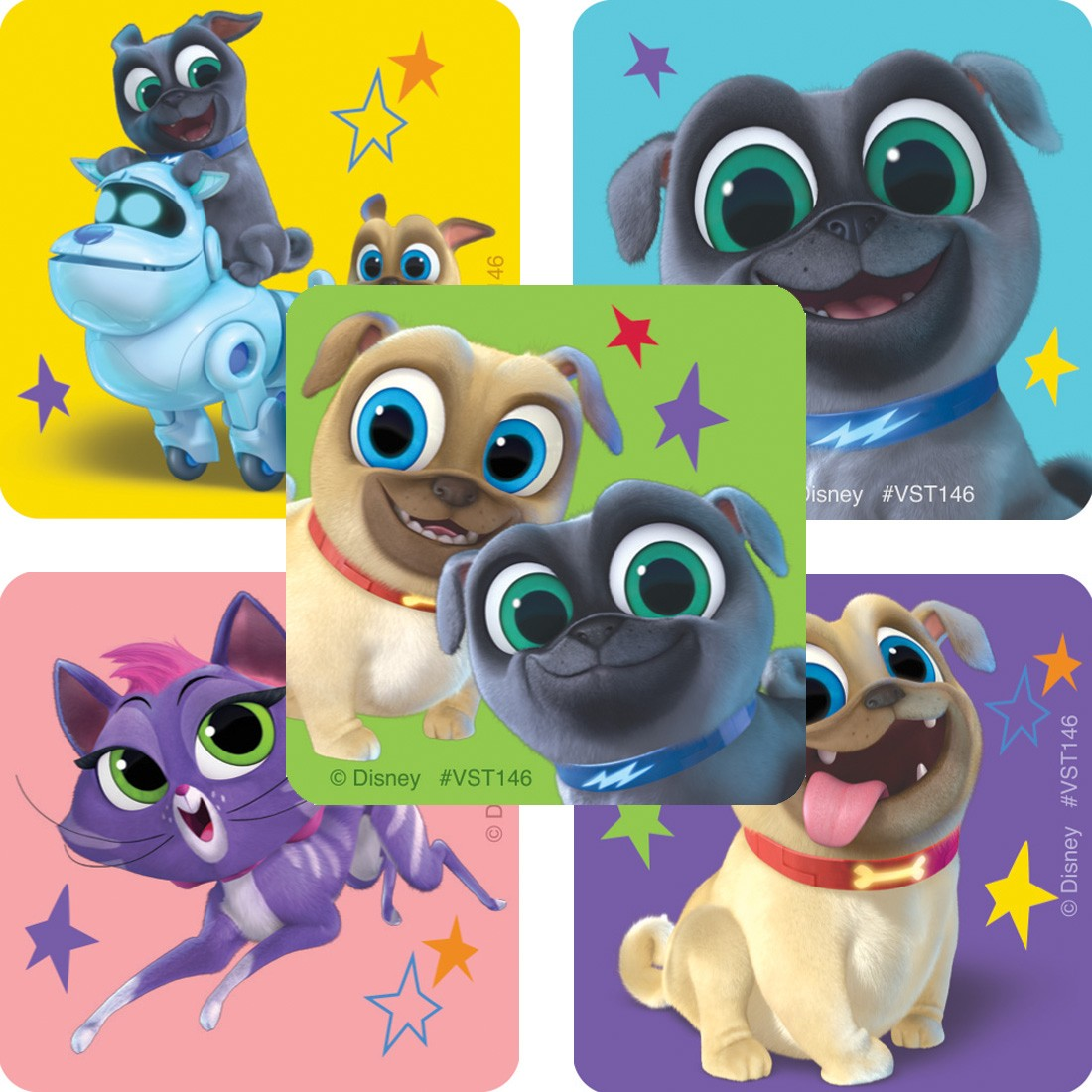 Puppy Dog Pals ValueStickers [image]