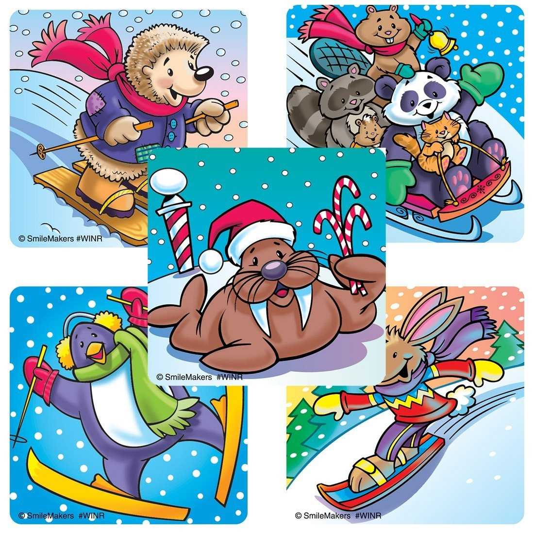 Assorted Winter Stickers                           [image]