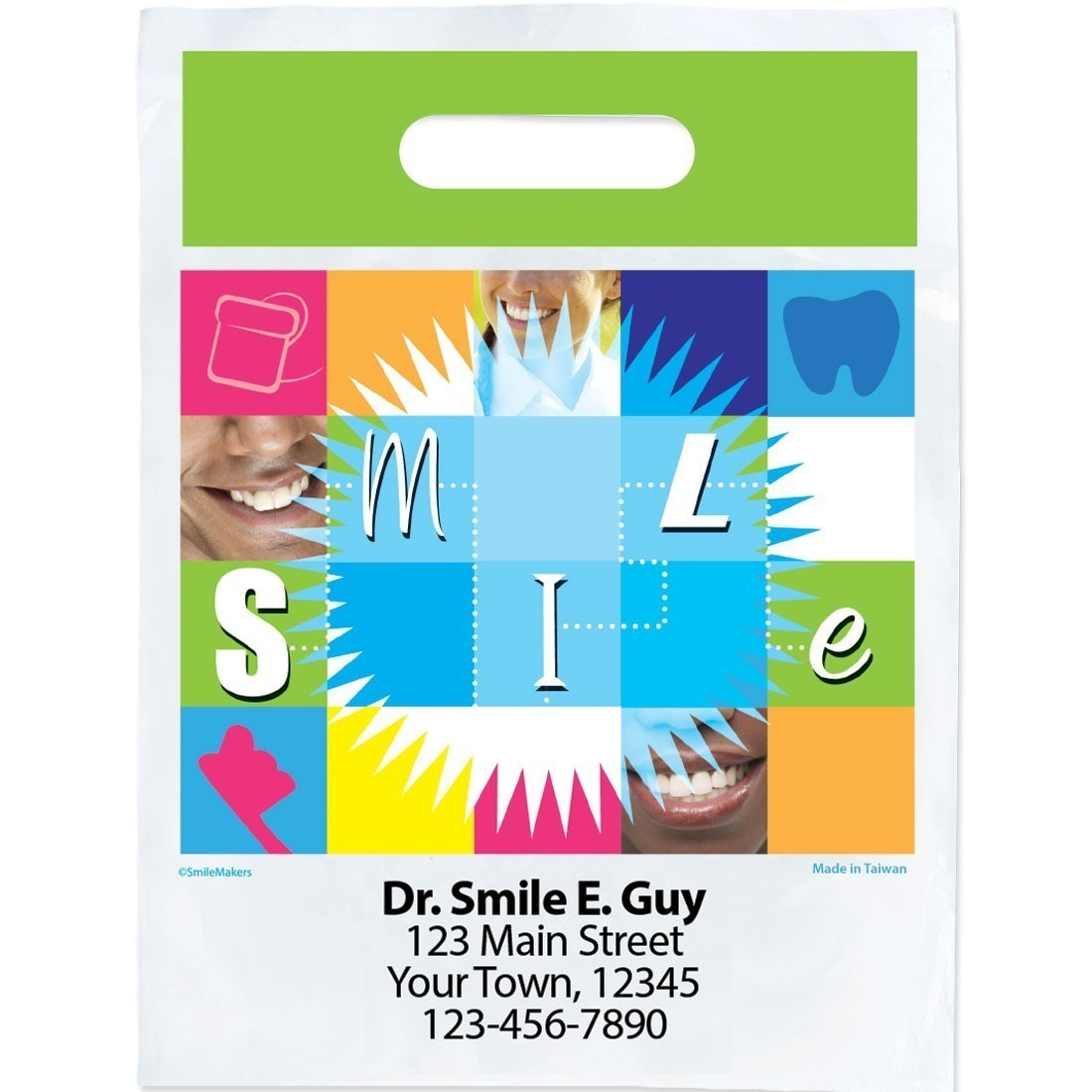 Custom Smile Blocks Bags [image]