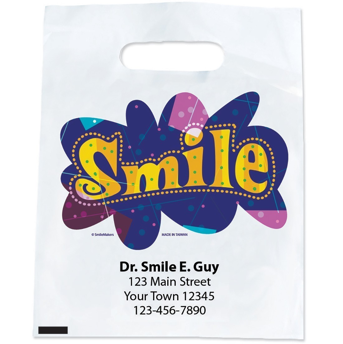 Custom Colourful Smile Bags [image]