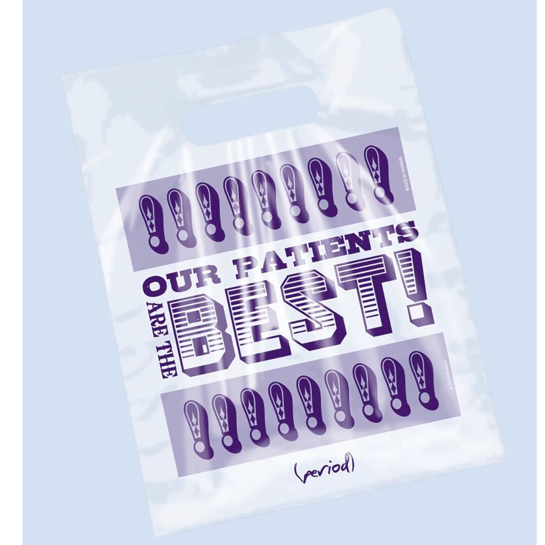 Clear Best Patients Bags                           [image]