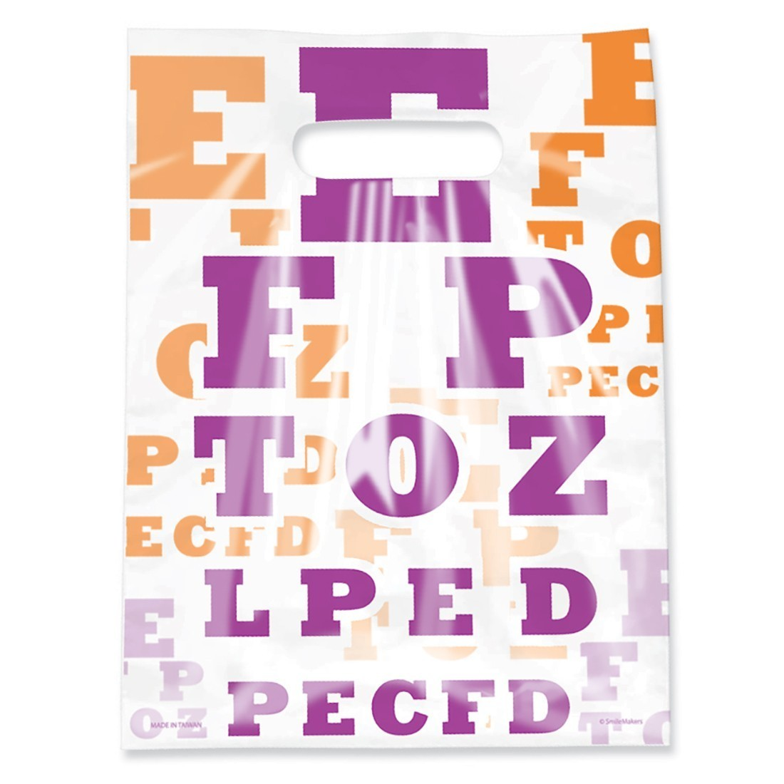 Scatter Eye Chart Bags [image]