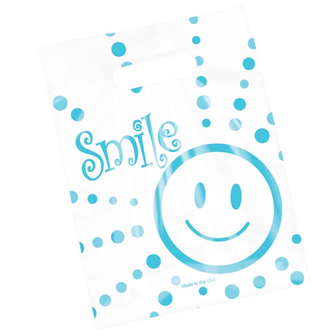 Clear Smiley Guy Bags                              [image]