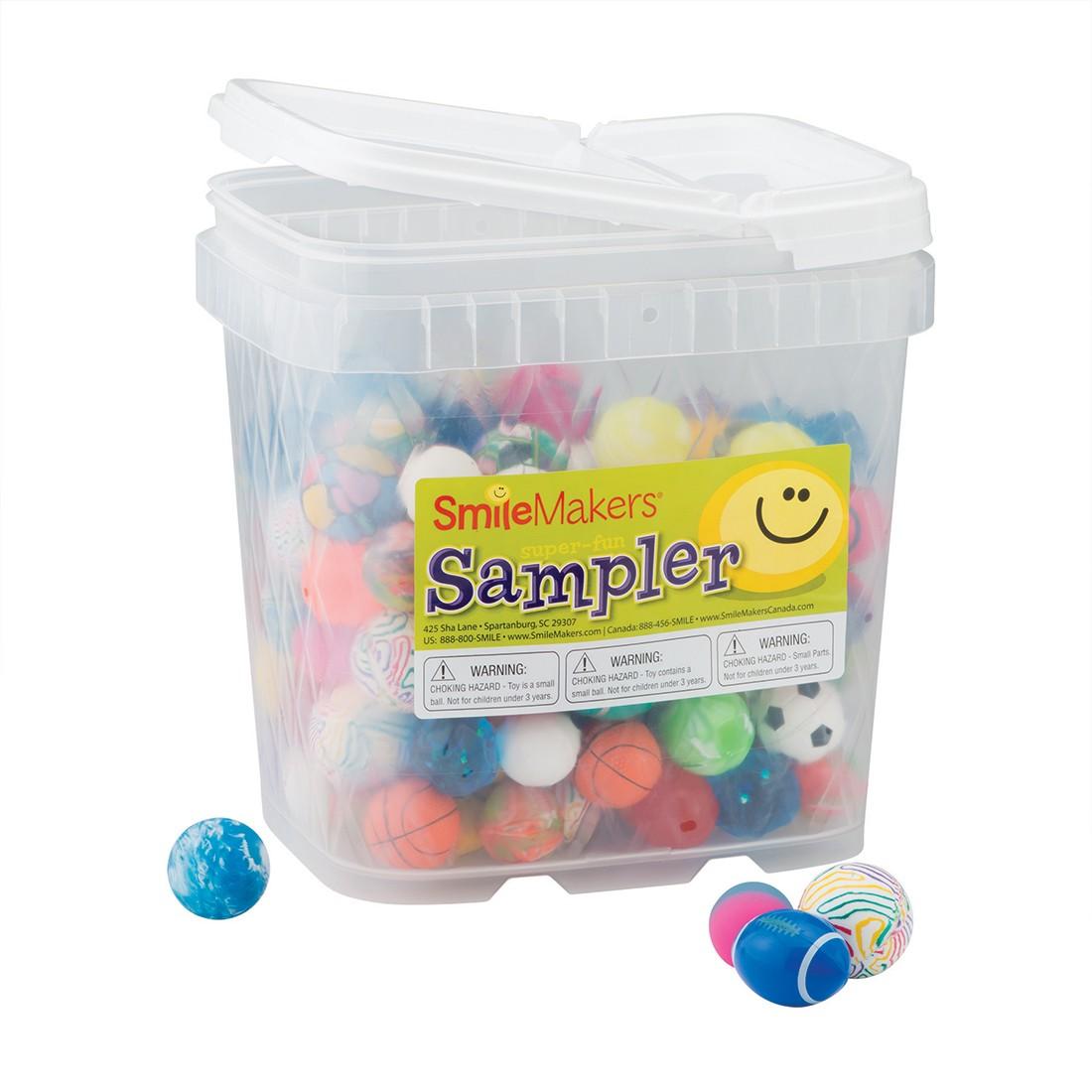 Amazing Bouncing Balls Sampler [image]