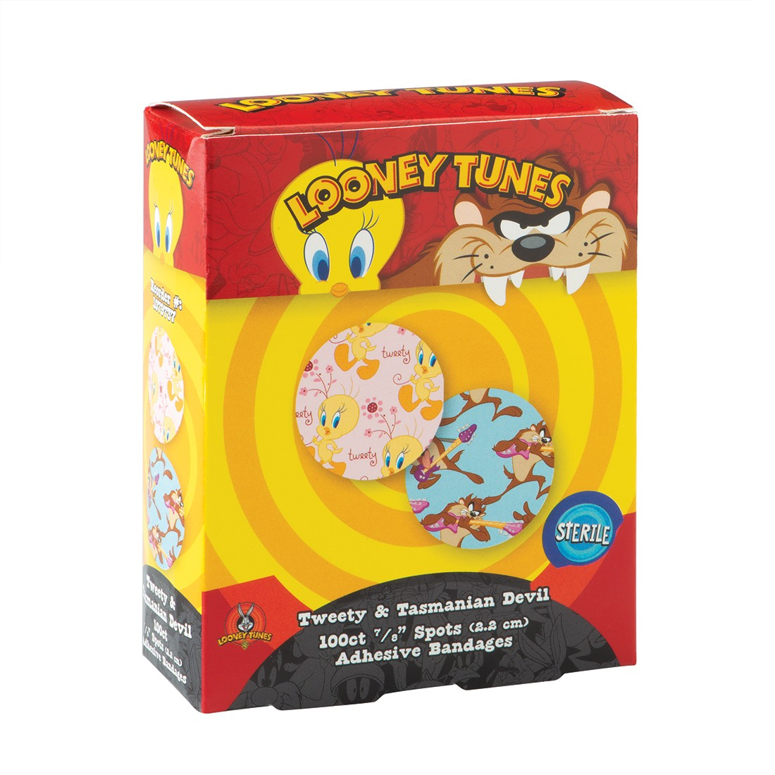 First Aid Looney Tunes Taz & Tweety Spot Bandages [image]