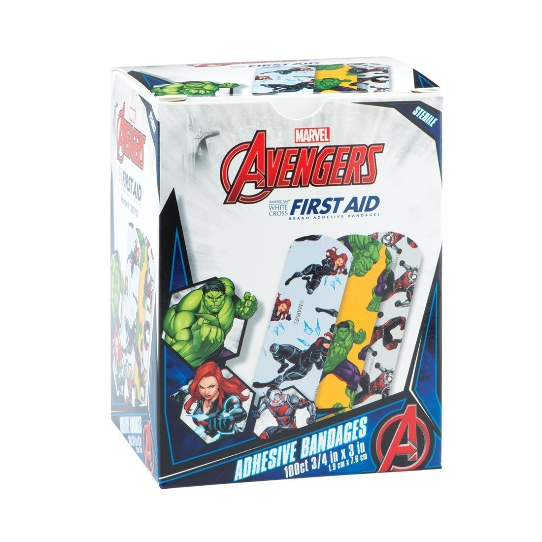 First Aid Avengers Bandages [image]