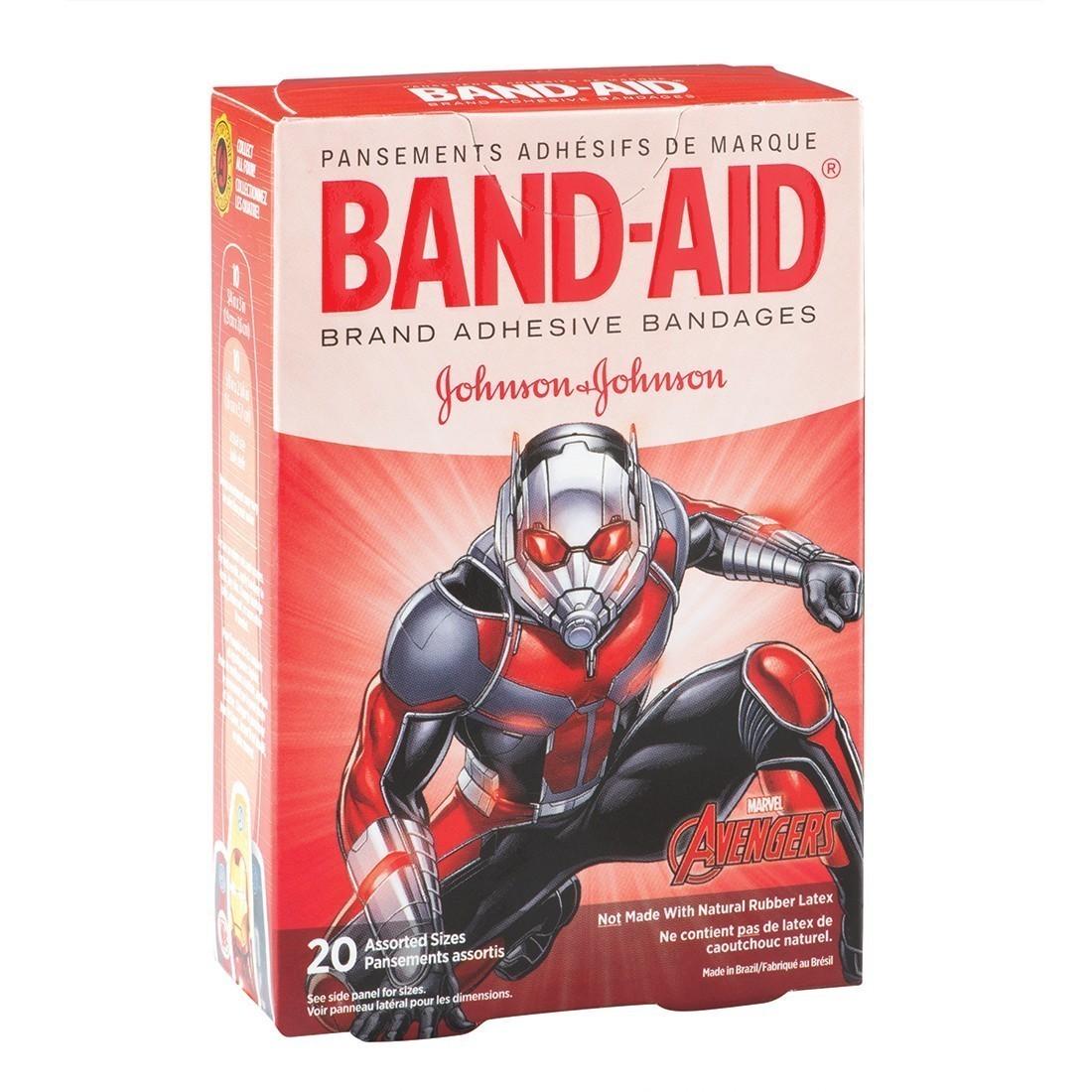 Band-Aid® Avengers Bandages [image]