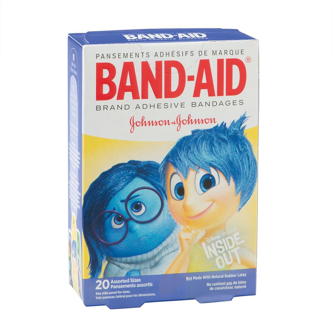 Band-Aid® Disney*Pixar Inside Out Bandages - Case [image]