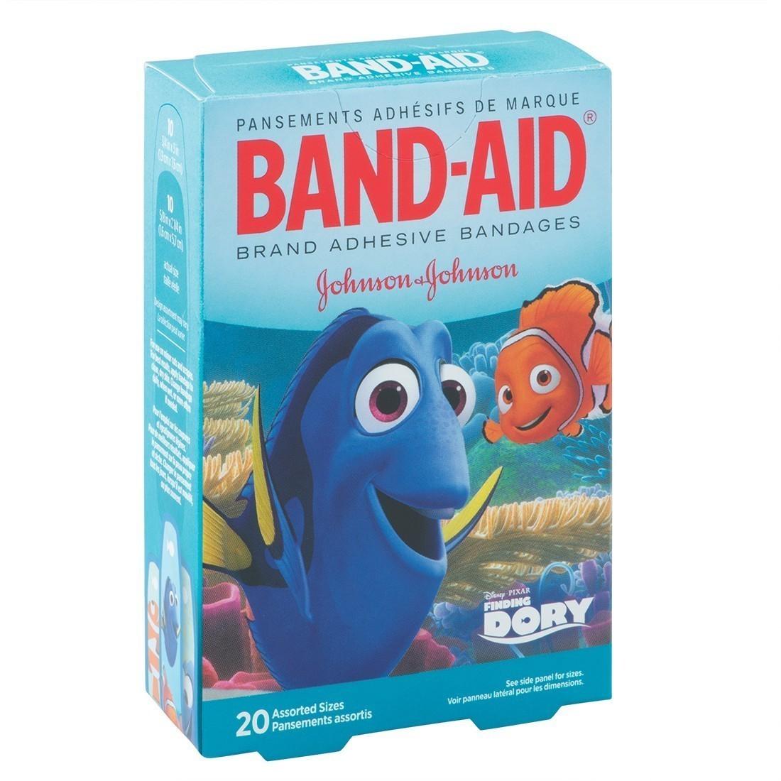 Band-Aid® Finding Dory Bandages   [image]