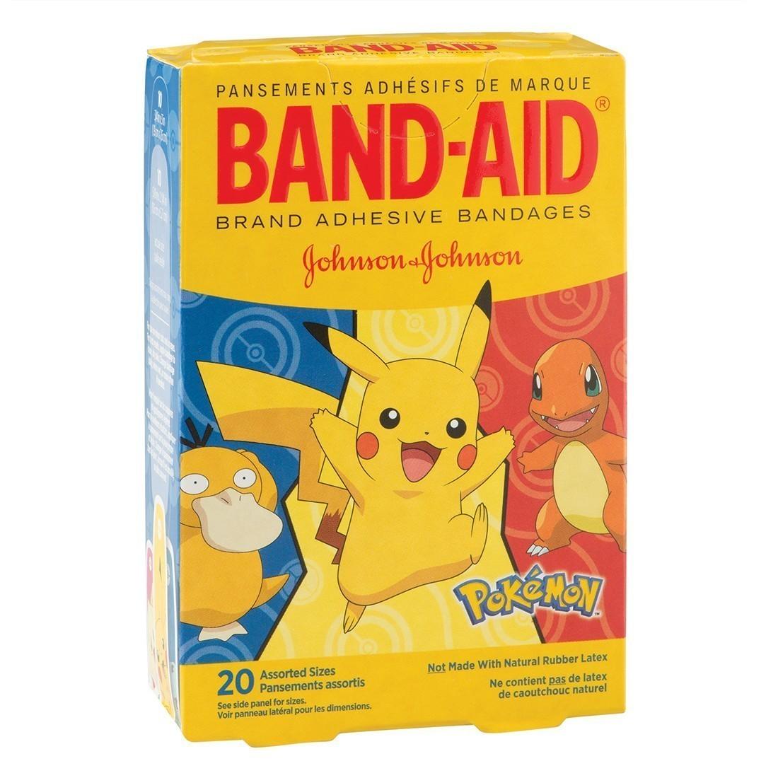 Band-Aid® Pokemon Bandages - Case [image]