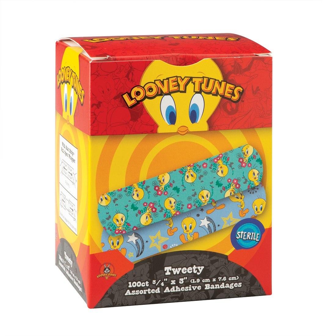 First Aid Case Looney Tunes® Tweety Bandages [image]