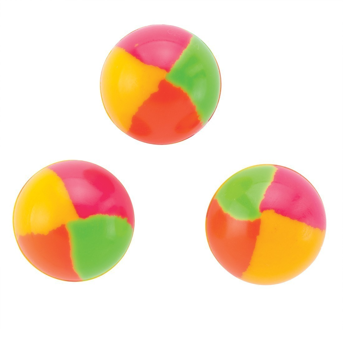 29mm Neon Circus Bouncing Balls [image]